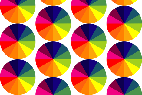 Color Wheels fabric by boris_thumbkin on Spoonflower - custom fabric