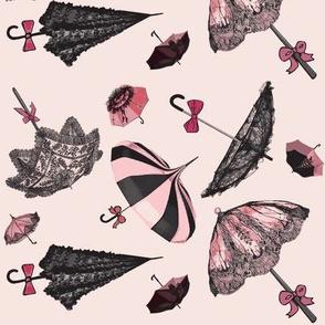 Brellas & Bows /Pink