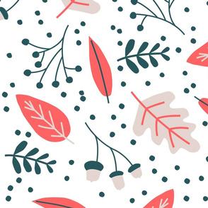 Autumn leaves variation