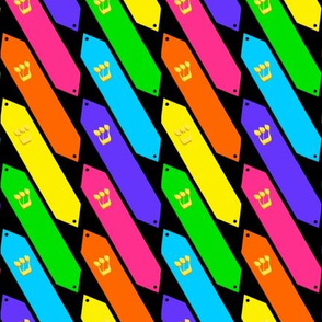 Rainbow Mezuzahs