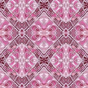 Attack of the Perky Pink Paisley
