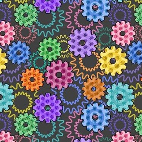 Gears and Flowers