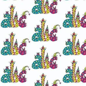 abc alphabet doodle