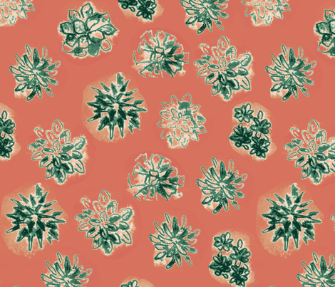 Fatplants fabric by zandloopster on Spoonflower - custom fabric
