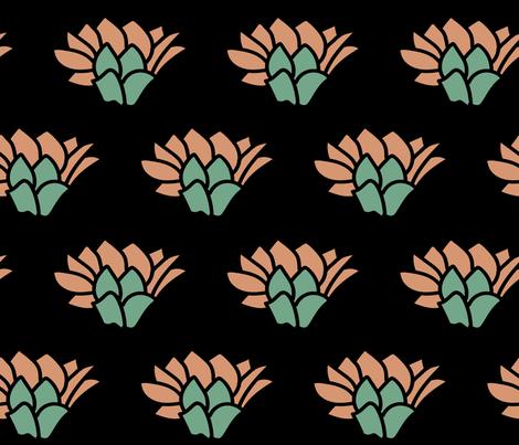 High desert bloom fabric by lauren_mccrea on Spoonflower - custom fabric
