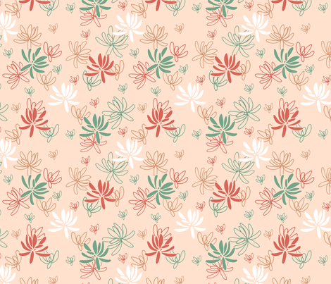 Sappy_succulents fabric by moragmotif on Spoonflower - custom fabric