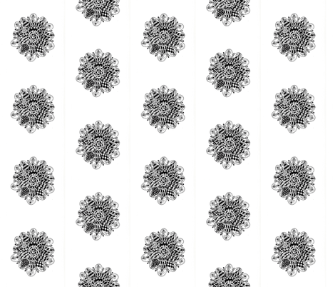 Round doodle 1 fabric by barbuch on Spoonflower - custom fabric