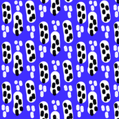 Encapsulated - blue/white/black