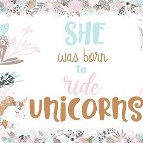 Rides with Unicorns Cuddle