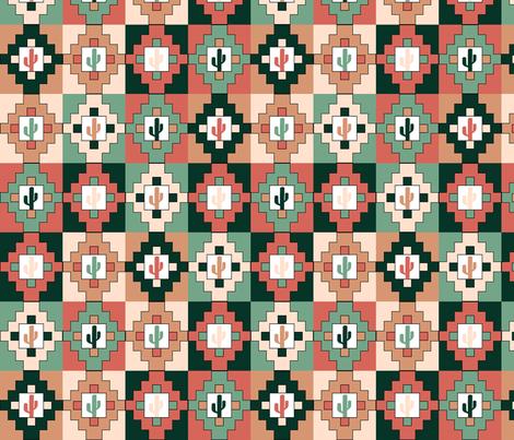 desert_frames_2 fabric by woodsworks on Spoonflower - custom fabric
