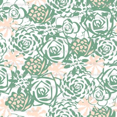 Succulent floral