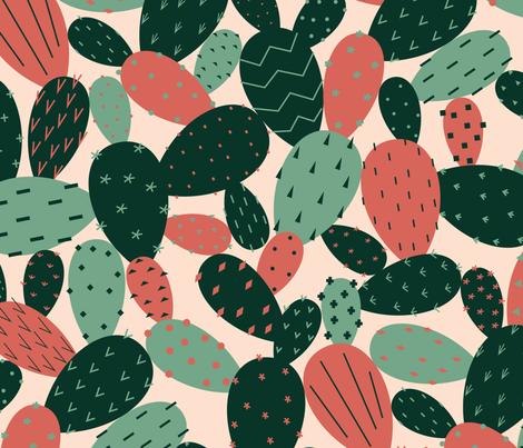 PRICKLYpears fabric by katerhees on Spoonflower - custom fabric