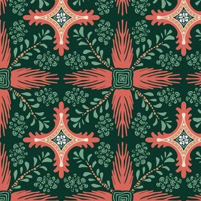 Tiled Succulents