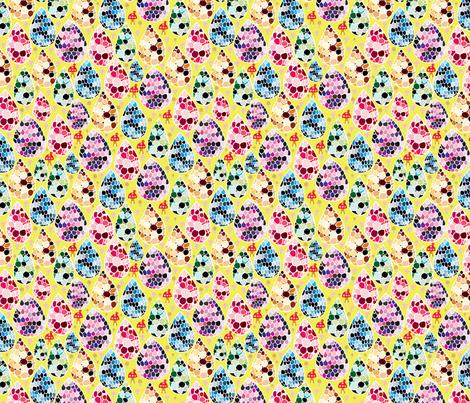 RainDrop-Mushroom03 fabric by y_me_it's_me on Spoonflower - custom fabric