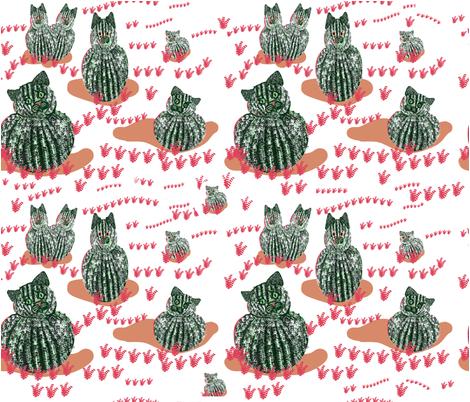 catcus_in_bloom fabric by alohajean on Spoonflower - custom fabric