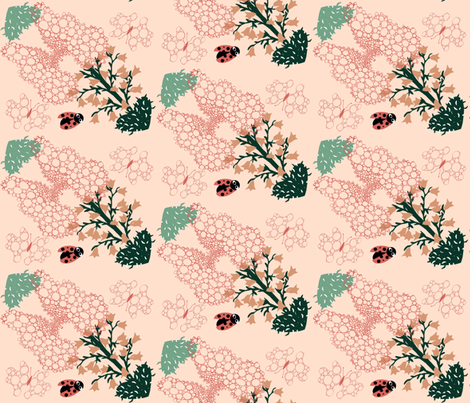 Prickly_Love_12 fabric by ruthjohanna on Spoonflower - custom fabric