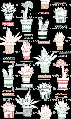 Doodle Succulents