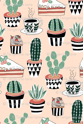 Cacti, Coffee and Cake