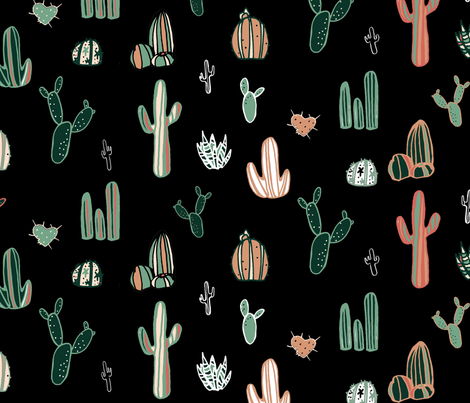 Sahara Night fabric by mariden on Spoonflower - custom fabric