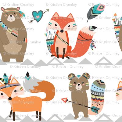 Tribal Woodland Creatures - Smaller