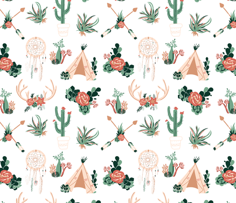 Wanderer fabric by kylie_33 on Spoonflower - custom fabric