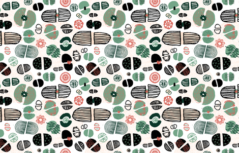 Lithops by Friztin fabric by friztin on Spoonflower - custom fabric