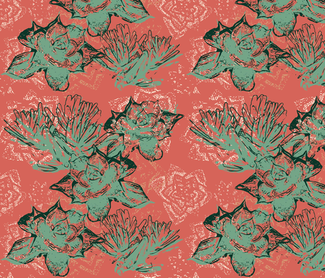 succulentlimitedpalatte3-01 fabric by amyjeanne_wpg on Spoonflower - custom fabric
