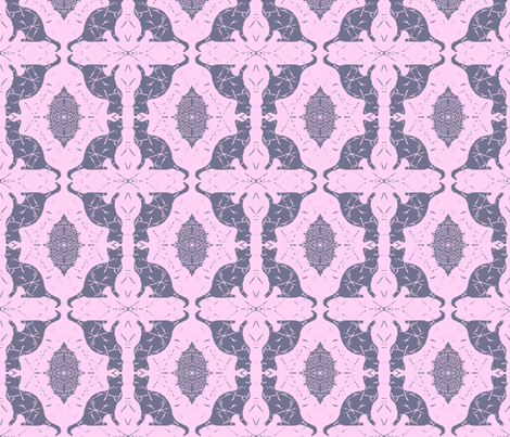 Cat Silhouette Cotton Candy fabric by peaceofpi on Spoonflower - custom fabric