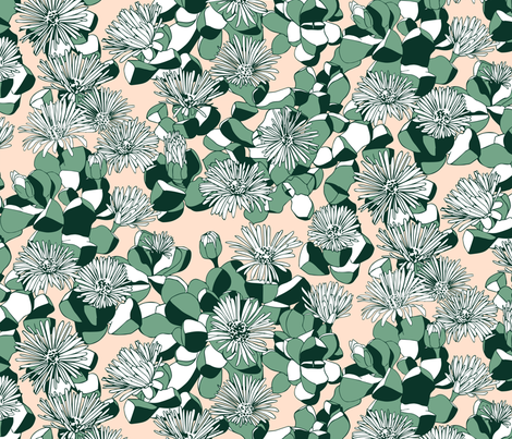 Lapidaria Pattern fabric by nellik on Spoonflower - custom fabric