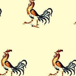 Little Gold Rooster