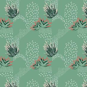 Glass Garden Succulents
