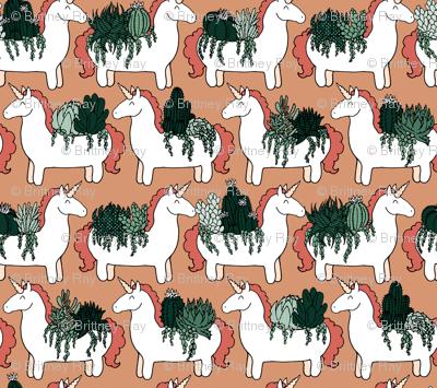 Herd of Unicorn Planters
