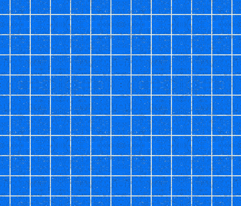 FRENCH_LINEN_GRID_BLUE_SOLID fabric by holli_zollinger on Spoonflower - custom fabric