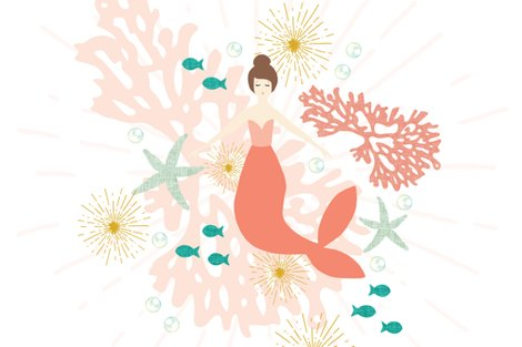 Rmermaid-single-motif-54-blanket-coral-reef-brunette_shop_preview