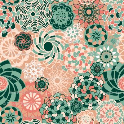 Succulents Desert Bloom