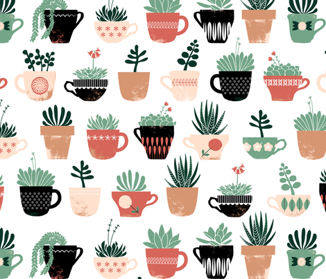 Windowsill fabric by jenimp on Spoonflower - custom fabric