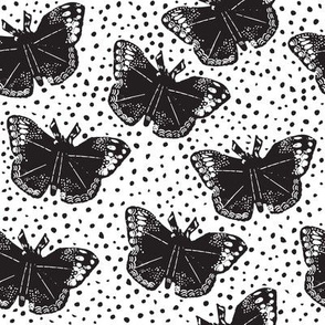 Dotted Butterflies // bliss design studio