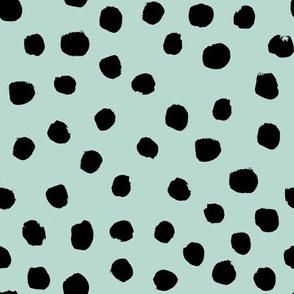 dots cream neutral classy spots animal print baby minimal trendy print design
