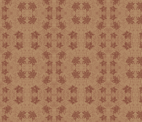 Autumn Maple Leaf fabric by peaceofpi on Spoonflower - custom fabric