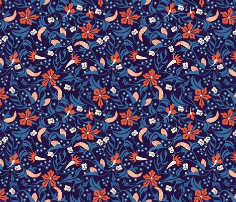 Perfumed Jungle fabric by ay_laurita on Spoonflower - custom fabric