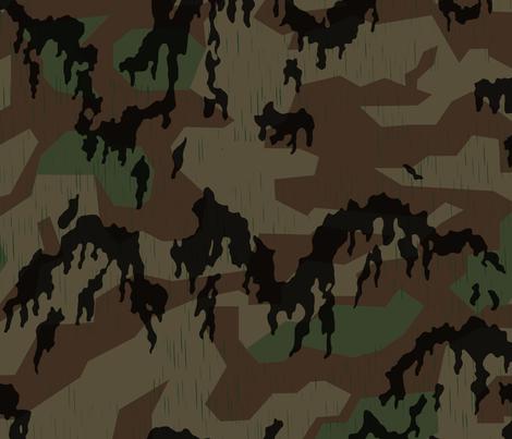 Splinter_A_Leibermuster_Overprint_copy fabric by ricraynor on Spoonflower - custom fabric