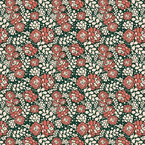 Succulents fabric by kotyplastic on Spoonflower - custom fabric