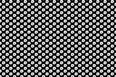 White_on_Black fabric by wildflowerfabrics on Spoonflower - custom fabric