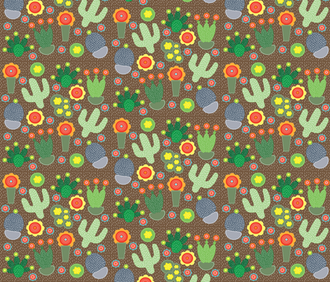 Desert Carnival fabric by artgirlangi on Spoonflower - custom fabric