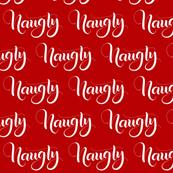 Naughty - Red - Christmas
