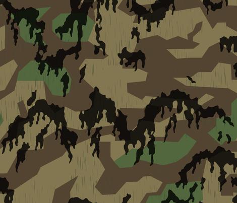 Splinter_A_Leibermuster_Overprint_Spring fabric by ricraynor on Spoonflower - custom fabric