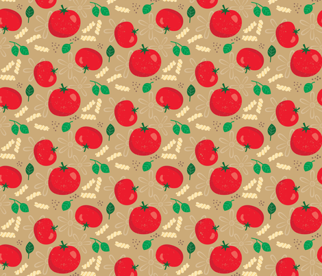 Tomato Tomahto fabric by lisa_kubenez on Spoonflower - custom fabric
