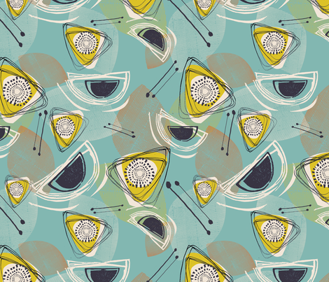 Abstract Stitch up fabric by nattymaid on Spoonflower - custom fabric