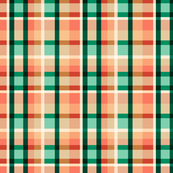 Desert Blooms Plaid
