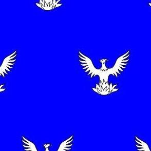 Azure, a Phoenix Argent